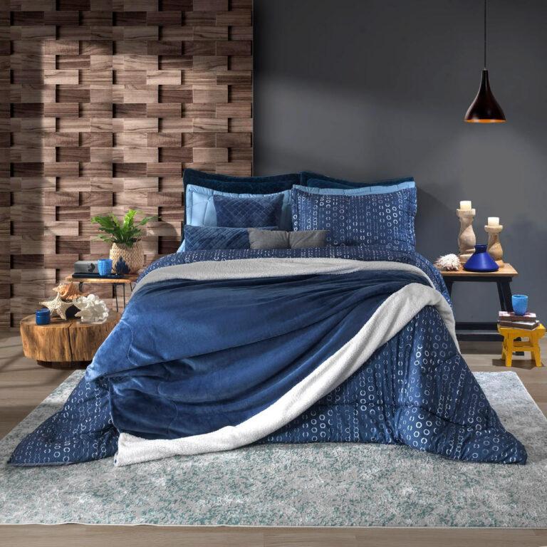 Liso - Azul Indigo